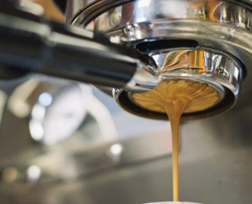 Träning och kaffe